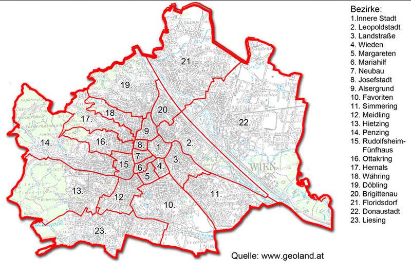 Mejores zonas para alojarse en Viena